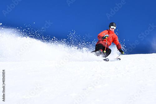 Skifahren bei Kaiserwetter