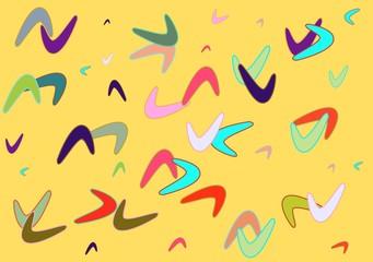 fifties pattern landscape format
