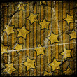 grunge colorful starry background
