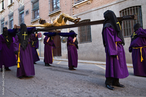 Holy week in Guadalajara - Spain