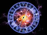 Abstract Zodiac background