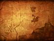 Brown grungy wal