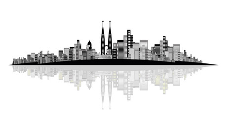 city vector design