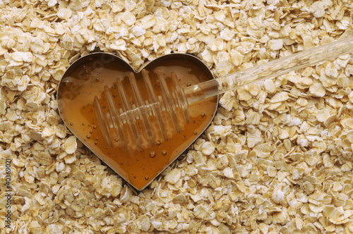 Avena e miele Oat and honey