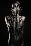 Fototapeta ciało - lekkoatletycznego - Kobieta