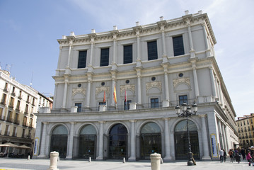 Royal theatre, Madrid.