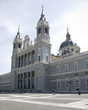 Cathedral Almudena, Madrid, Spain.