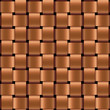 vector metal wicker seamless background