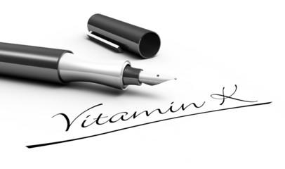 Vitamin K - Stift Konzept