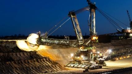 Tagebau bei Nach