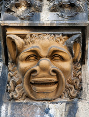 Mask in Aachen (Germany)