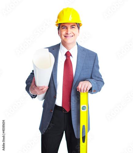 Engineer businessman.