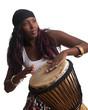 African Djembe Drummer - 40383861