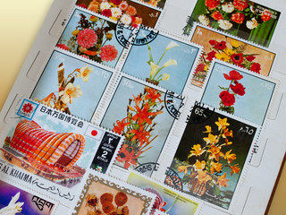Album francobolli  Album stamps