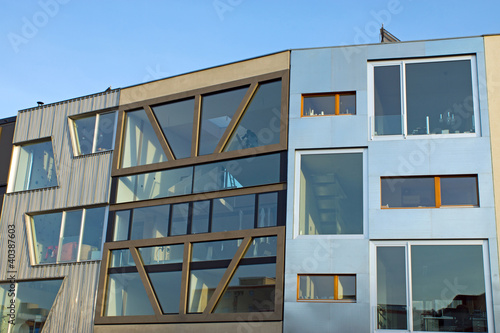 Modern townhouses in Berlin