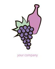 Logo wine