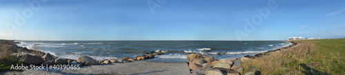 canvas print picture Panorama Ostsee