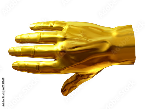 golden back of the hand