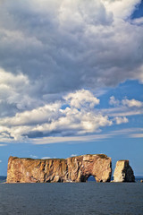Perce Rock in Gaspie, Quebec, Canada
