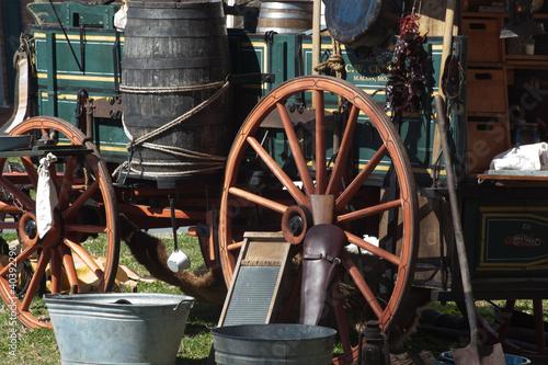 Leinwandbild Motiv chuck wagon side