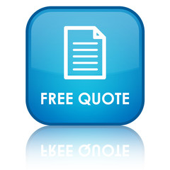 Free Quote blue button