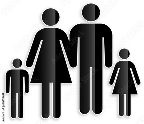 symbol familie von berlinstock lizenzfreier vektor 40393447 auf. Black Bedroom Furniture Sets. Home Design Ideas