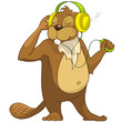 """Beaver CREES. Look for Funny Beaver by Keyword """"CREES""""."""
