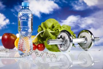 Healthy lifestyle concept, Fruit