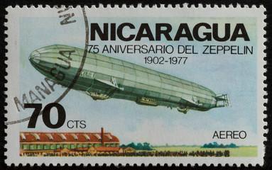 francobollo nicaragua