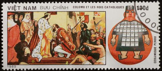 francobollo vietnam