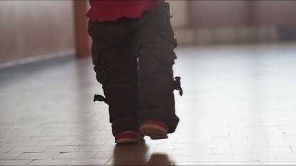 Kid walk
