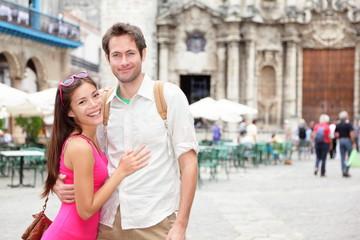 Cuba tourists in Havana