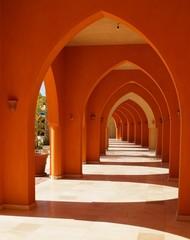 Säulendurchgang in El Gouna
