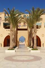 Mediterraner Eingang in El Gouna