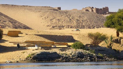 Landschaft am Nil