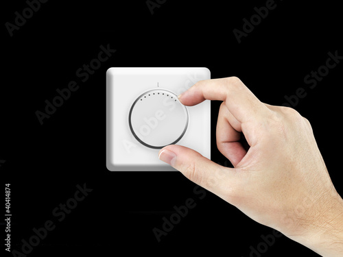Adjusting thermostat