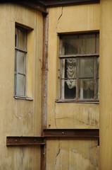 Hinterhof in St. Petersburg