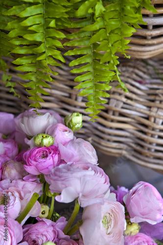 renoncule fleur bouquet foug re plante fleuriste photo libre de droits sur la banque d. Black Bedroom Furniture Sets. Home Design Ideas