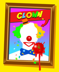 the clown frame