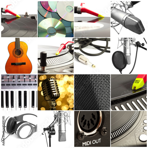 group of different musical instruments