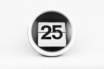 Kalendarz listkowy - 25