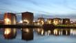 Tankhafen, Industriegebiet