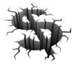 dollar crash 3d concept