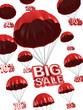 big sale - discount 3d concept