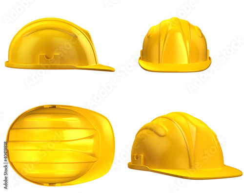 construction helmet from different views - 40419818