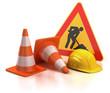 under construction 3d concept - 40421476