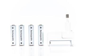 Batterie ricaricabili e caricatore