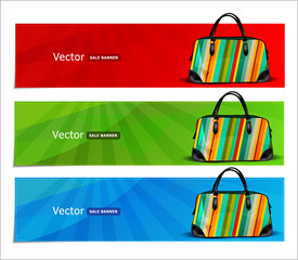 vector shopping banners