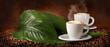 Fototapeta Kawa - Prażenie - Kawa / Herbata / Czekolada