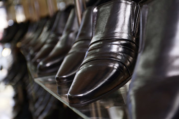 Image of men's shoe shop.